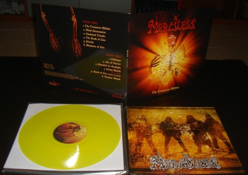 """MERCILESS (SWE) """"The Treasures Within"""" limited LPLP"""