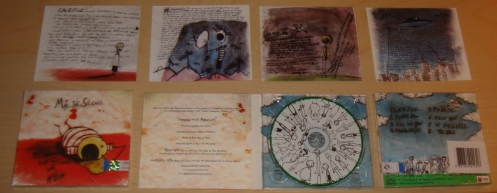 """MUTE THE SILENCE """"Cursed With Ambition""""CD"""