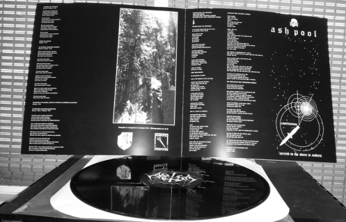 AKITSA / ASH POOL - RIPPED FROM DEATH, FORCED TO LIVE AND DIE AGAIN - LP
