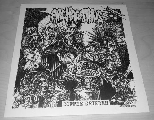 """ARCHAGATUS """"Coffee Grinder"""" LP"""
