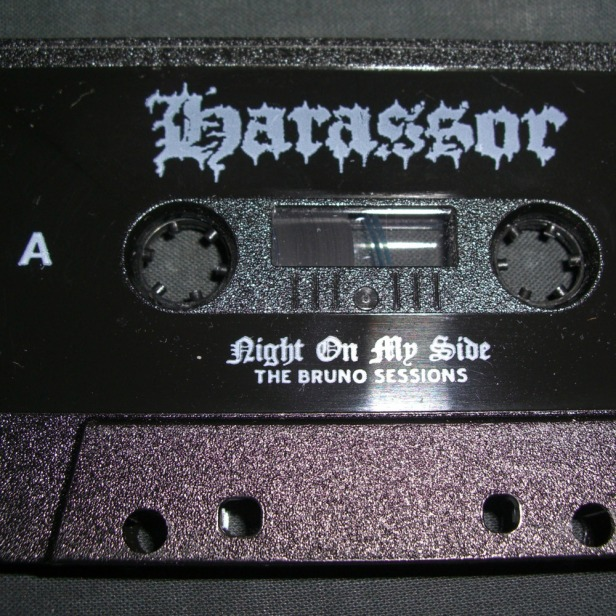 """HARASSOR """"Night On My Side: The Bruno Sessions"""" Cassette"""