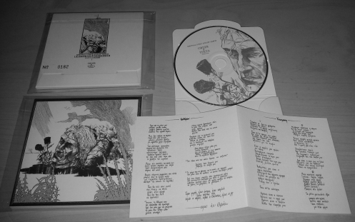 SPECTRAL LORE/LOCUST LEAVES split-CD