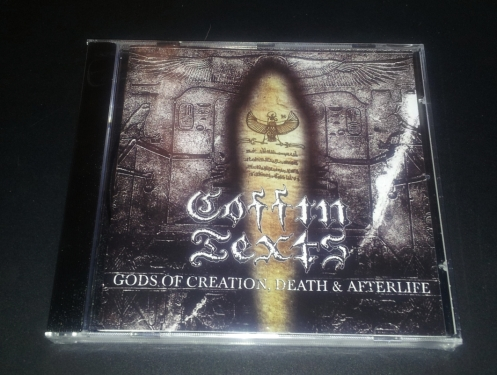 COFFIN TEXTS (USA) - 'Gods of Creation, Death & Afterlife' CD