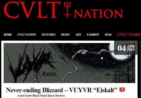 """Never-ending Blizzard – VUYVR """"Eiskalt"""""""