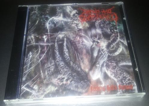 DRAWN AND QUARTERED (USA) - 'Feeding Hell's Furnace' CD