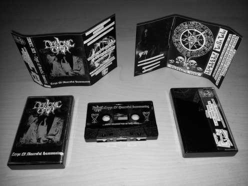 "DEMONIC OATH ""The Crypt Of Mournful Summoning"" MC"