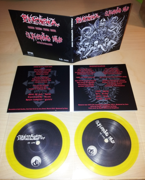 Phobia / Suffering Mind 5""