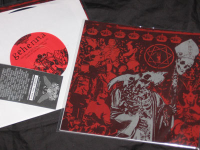 Gehenna / Blind To Faith split-7""