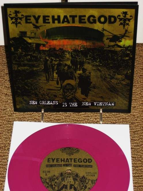 EYEHATEGOD New Orleans Is The New Vietnam 7""