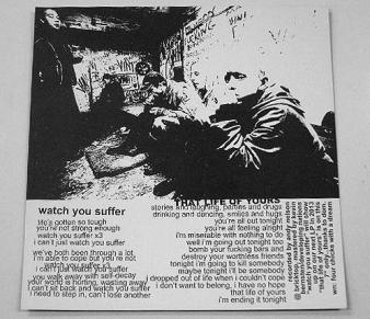 "WEEKEND NACHOS - Watch You Suffer (Ltd.300 Color 7"")"