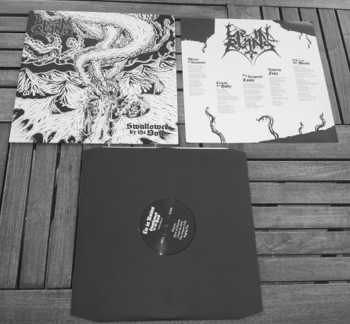 NWR063 LIE IN RUINS (Fin) - 'Swallowed By The Void' LP