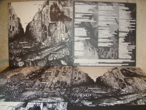 Dirty Wombs / Gutter Split LP