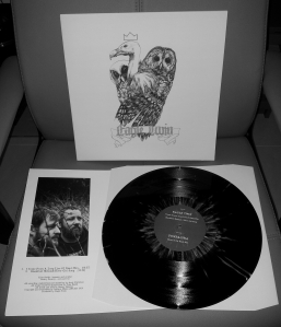 EAGLE TWIN POMBAGIRA SPLIT LP