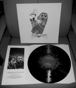 EAGLE TWIN POMBAGIRA SPLIT LP
