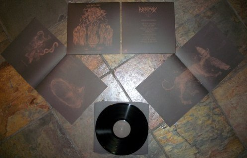 Alchemyst (Ger.) - Nekromanteion LP + Booklet