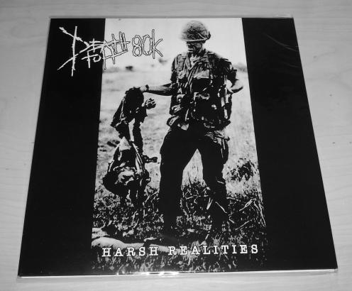 """DEATHTOLL 80k """"Harsh Realities"""" LP"""