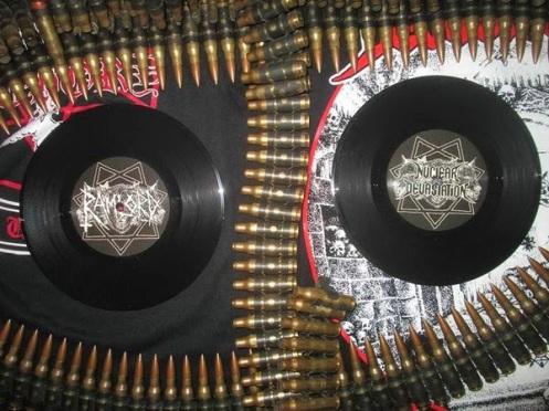 Black Vinyl Nuclear Devastation