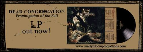 "Dead Congregation ""Promulgation of the Fall"" LP"