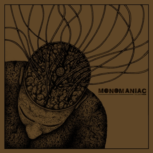 Monomaniac vol.4 artwork by Viral Graphics.