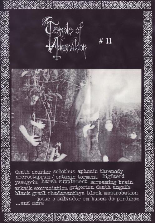 Temple Of Adoration zine#11