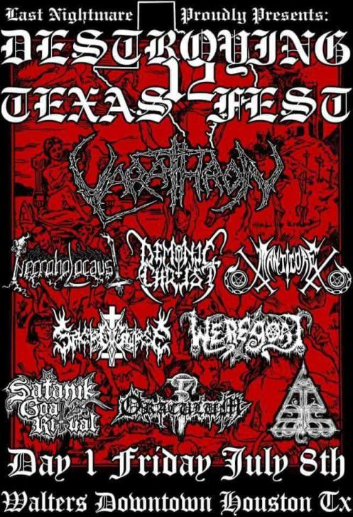 destroying texas fest #12